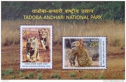 INDIA 2016 Tadoba-Andhari National Park M/S 10nos. MINIATURE SHEETS MNH