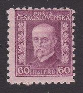 Czechoslovakia, Scott #117, Mint Hinged, Masarlyk, Issued 1926 - Czechoslovakia