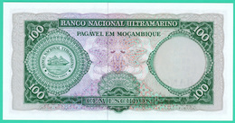 100 Escudos - Mozambique - 1961 - N° C53982371 - Neuf - - Mozambique