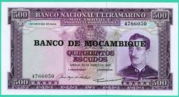 500 Escudos - Mozambique - 1967 - N° 4766030 - Neuf - - Mozambique