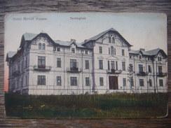 Ro.58S.  Techirghiol. Hotel Movila (Fatada). Romania. - Romania