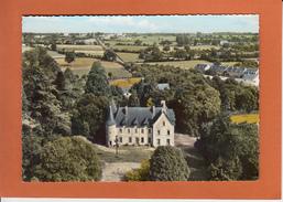 COMBREE  M.et.L.  Chateau Des Hammeaux   CPSM   EN AVION AU DESSUS DE...   Le 10 8 1966 - France