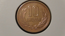 Japan - 1963 - 10 Yen - Y73a - XF - Japan