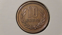 Japan - 1965 - 10 Yen - Y73a - VF - Japan