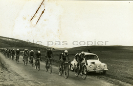 ALGERIE Course Cycliste Vers 1955 Tirage D'époque Par Henri Vey - Wielrennen