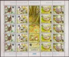 YOGUSLAVIE 2000 WWF BIRDS - W.W.F.