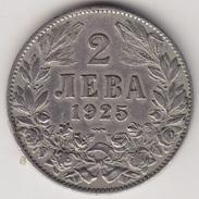 @Y@    Bulgarije  2 Leva  1925   (4503) - Bulgarie
