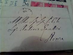 PREFILATELICA DA CITTA DI CASTELLO A ROMA  LETTERA 1859 VB1859 FY11206 - Italia