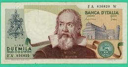 2000 Lire - Italie - N°.FA636820W - 1973/1983 - TTB - - [ 2] 1946-… : Républic
