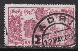 ESPAÑA 1905 - Centenario Publicacion Del Quijote Sello Usado Edifil Nº 264 - 1889-1931 Regno: Alfonso XIII