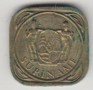 @Y@    Suriname  5 Cent  1962   (4516) - Surinam 1975 - ...