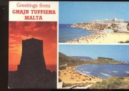 B2940 GREETINGS FROM GHAJN TUFFIEHA - Malte