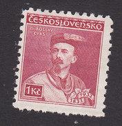 Czechoslovakia, Scott #188, Mint Hinged, Miroslav Tyrs, Issued 1932 - Czechoslovakia