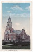 GRANBY PQ QUEBEC, EGLISE CATHOLIQUE CATHOLIC CHURCH C1910-20s Vintage Canada Postcard [6986] - Granby
