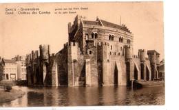 S2202 SMALL POSTCARD:Gent's Gravensteen Gezien Van Het Klein Geward  _ NOT WRITED _ Castle, Chateau, Castello - Gent