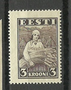 ESTLAND ESTONIA Estonie 1935 Harvesting Landarbeit Ernte Michel 108 * - Jobs