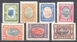 Ingrie YT N°8/14 Série Courante Neuf ** - Unused Stamps