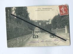 CPA  Très Très Abîmée - Montmorency - L'Avenue Emilie Et La Gare - Montmorency