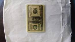 Israel-the United States100$-(12)--SAMPLE CARD-MINT - Israele