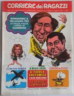CORRIERE DEI RAGAZZI N. 9  ANNO 1 DEL  27 FEBBRAIO 1972 (150414) - Corriere Dei Piccoli