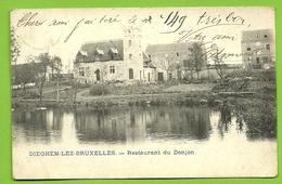 Diegem: Restaurant Du Donjon  (1909)  (bl Q) - Diegem