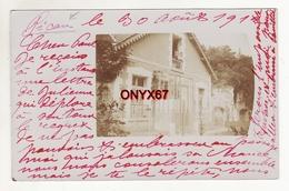 Carte Postale Photo PICAU (Gironde) Vue De La Petite Villa VOIR 2 SCANS - France
