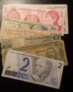 Lot Of Seven Different Sud Amesica's Notes. - Monnaies & Billets