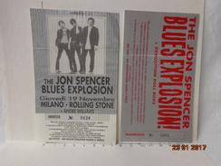 THE JON SPENCER BLUES EXPLOSION LOTTO 2 BIGLIETTI VINTAGE CONCERTO MILANO - Biglietti D'ingresso