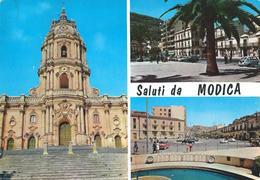 SALUTI DA MODICA (AG)- VEDUTINE - F/G - V. 1965 - Modica
