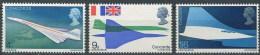 Gran Bretaña  555/557 ** MNH. 1969 - 1952-.... (Elizabeth II)