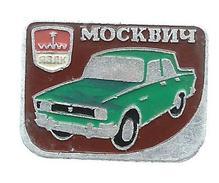 Moskvitch Badge Russia - Badges