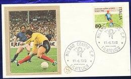 FDC -FILAGRANO - 1980   - Europei Di Calcio (100210) - FDC