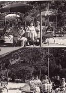 LAGO DI SCANNO - L' AQUILA - LOTTO DI DUE FOTO DEL 1954 CON DIDASCALIA SUL RETRO - Lieux