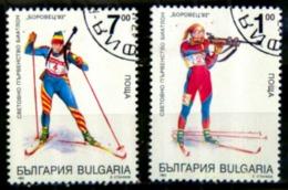 Bulgarie Y&T N°3503.3504.oblitérés