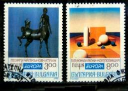 Bulgarie Y&T N°3505 A Et B.oblitérés  Europa