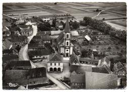 CPSM - STOTZHEIM - L'EGLISE - VUE GENERALE AERIENNE - N/b - Ann 50 - - France