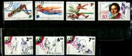 Bulgarie Y&T N°3431.3450/3452.3569/3571..oblitérés