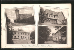 AK Göhren, Hermann Johanna-Kinderheim, Haus Schönfeld, Haus Burg Niedeck, Kinderheim Am Nordpeerd - Göhren
