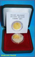 BELGIE - 2 € 2011 PROOF - 100 JAAR VROUWENDAG - Belgique
