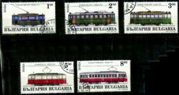 Bulgarie Y&T N°3587/3591..oblitérés