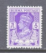 BURMA  19    ** - Burma (...-1947)