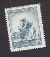 Czechoslovakia, Scott #B147, Mint Hinged, Mother And Chile, Issued 1937 - Czechoslovakia
