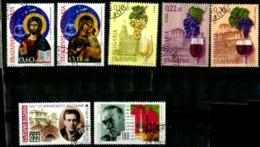 Bulgarie Y&T N°3853.3854.3902.3903.3904.3906..oblitérés