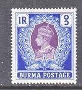 BURMA  30    ** - Burma (...-1947)