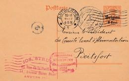Anvers Mécanique + Censure Mécanique - German Occupation