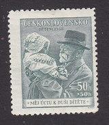 Czechoslovakia, Scott #B150, Mint Hinged, Man And Child, Issued 1938 - Czechoslovakia