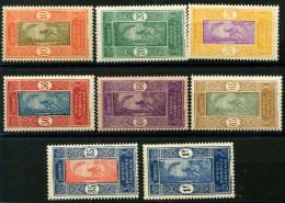 Dahomey (1925) N 70 à 78 * (charniere)