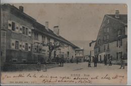 Biere - Rue - Animee - Photo: Des Arts No. 713 - VD Vaud