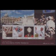 SIERRA LEONE 2013 - Scott# 3169 S/S Pope MNH - Sierra Leone (1961-...)