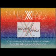 SOUTH AFRICA 2013 - Scott# 1500 S/S Relation W/Mexico MNH - Neufs